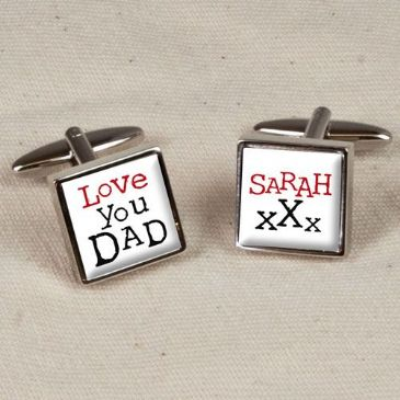 Love You Dad Cufflinks